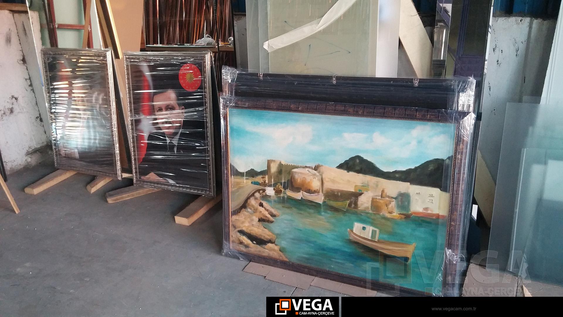 Vega Dekoratif Cam-Ayna-Çerçeve